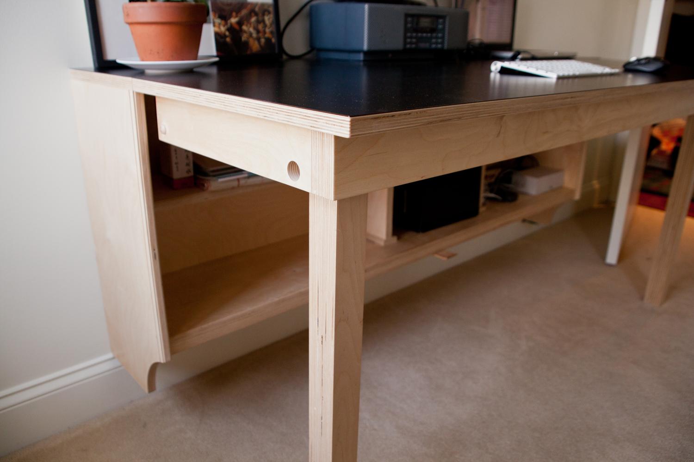 dropleaf desk   stan dolberg designs